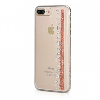 Coque iPhone 8 Plus/7 Plus Hermitage Rose Gold avec cristaux de Swarovski - Bling My Thing