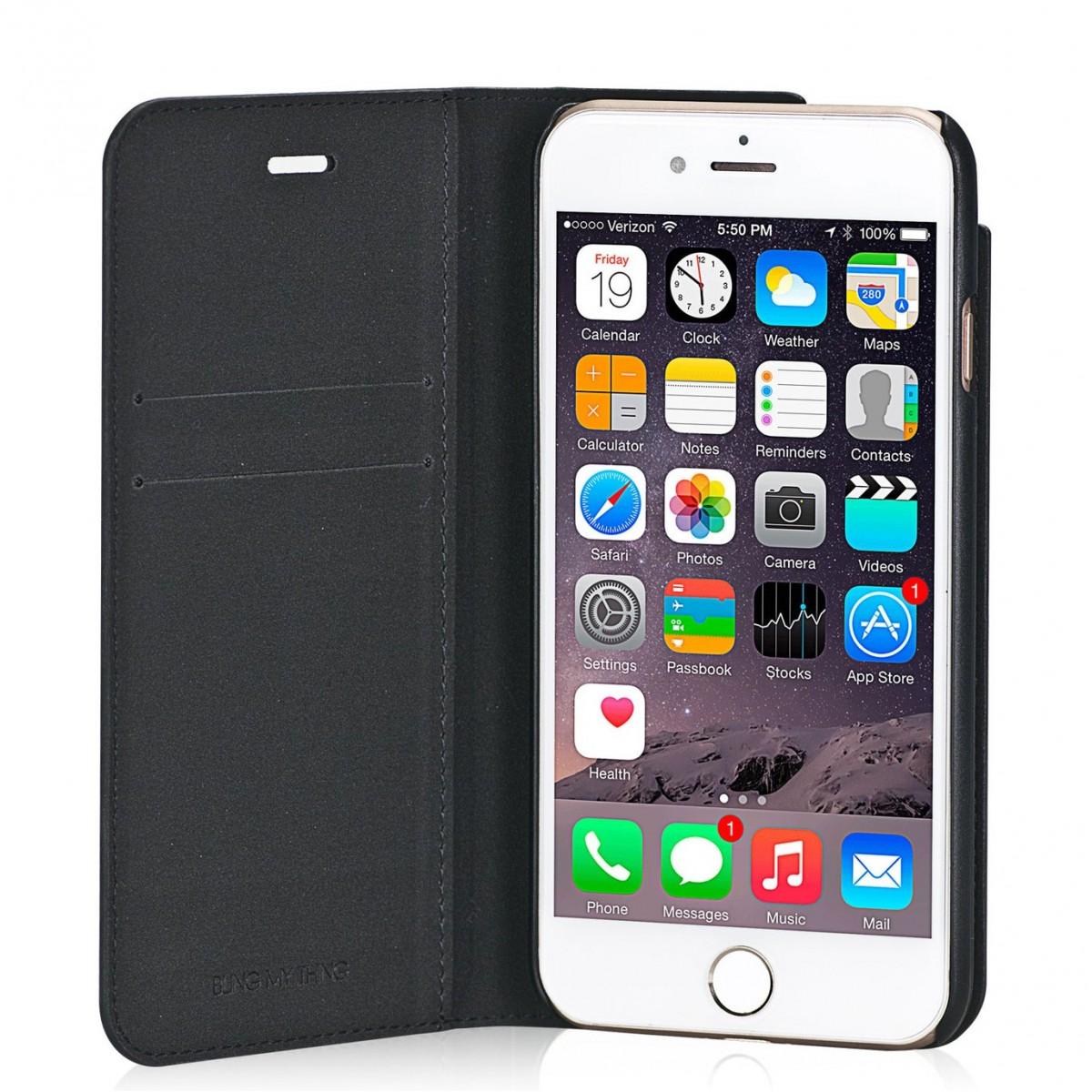 Etui iPhone 7 Primo Milky Way Angel Tears en cuir véritable et strass Swarovski - Bling My Thing