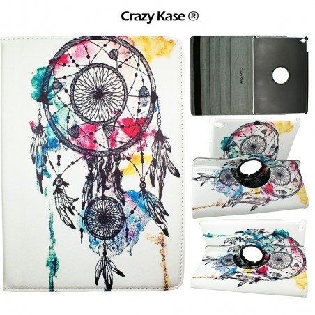 Etui iPad Air 2 Rotatif 360° motif Attrape Rêves - Crazy Kase