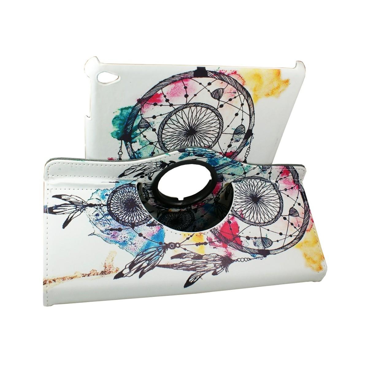 Etui iPad Air 2 Rotatif 360° motif Attrape Rêves - Crazy Kase