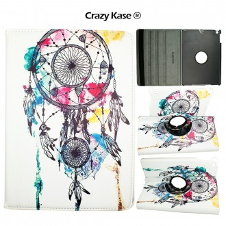 Etui iPad Air rotatif 360° motif Attrape Rêves - Crazy Kase