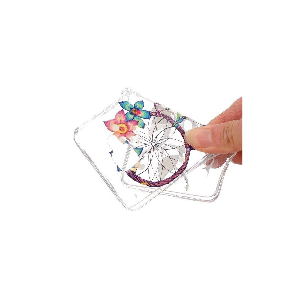 Coque Galaxy A5 (2016) Transparente souple motif Attrape Rêves Coloré et Fleurs - Crazy Kase