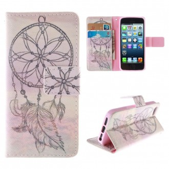 Etui iPhone SE / 5S /5 motif Attrape Rêve- Crazy Kase