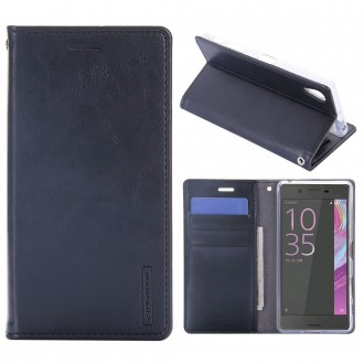 Etui Sony Xperia X Porte-cartes Noir - Goospery
