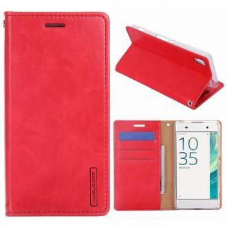 Etui Sony Xperia XA Porte-cartes Rouge - Goospery