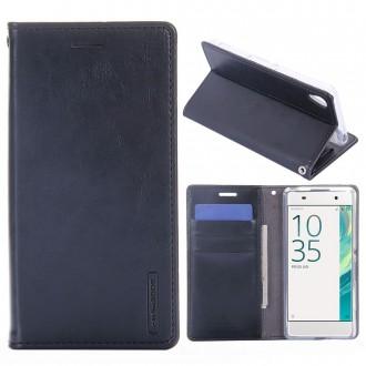 Etui Sony Xperia XA Porte-cartes Noir - Goospery