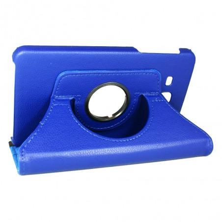Etui Samsung Galaxy Tab A 7.0 (2016) Rotatif 360° Bleu - Crazy kase