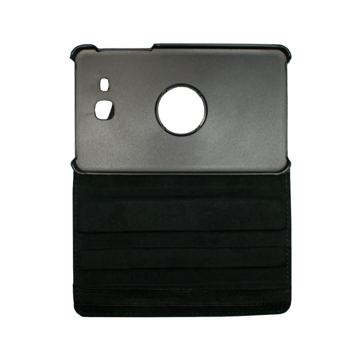 Etui Samsung Galaxy Tab A 7.0 (2016) Rotatif 360° Noir - Crazy kase