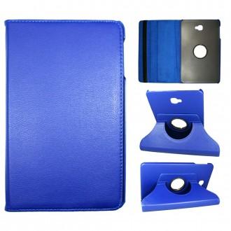 Etui Samsung Galaxy Tab A 10.1 (2016) Rotatif 360° Bleu - Crazy kase