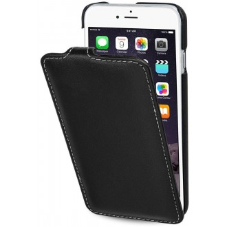 Etui iPhone 6S Ultraslim noir nappa en cuir véritable - Stilgut