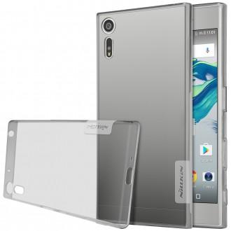 Coque Sony Xperia XZ Grise Transparente souple - Nillkin