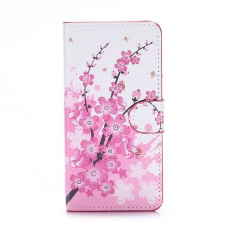 Etui Honor 5C motif Fleurs Japonaises - Crazy Kase