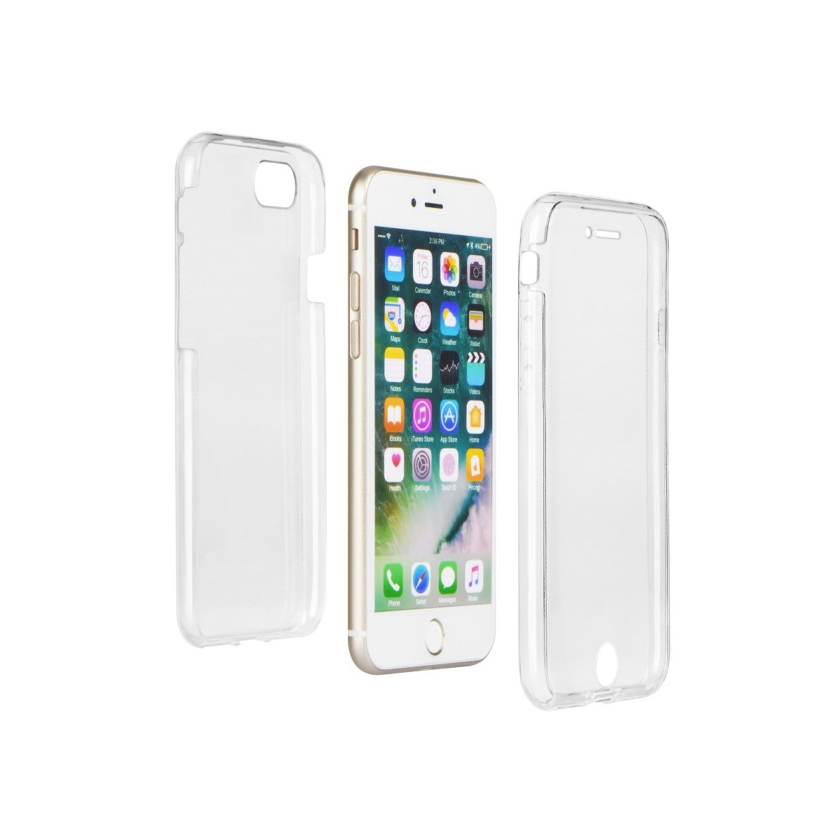 Coque iPhone 6 Plus / 6S Plus protection 360 ° Transparente souple - Crazy Kase