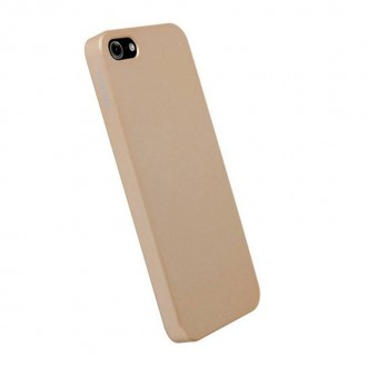 Coque Krusell ColorCover pour Apple iPhone 5 champagne métal