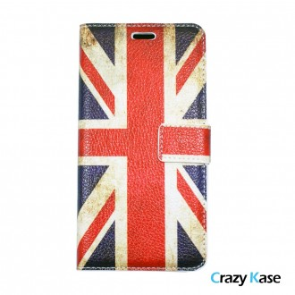 Etui Galaxy A5 (2016) motif Drapeau UK - Crazy Kase