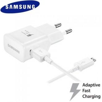 Chargeur secteur USB + cable micro USB blanc 1.2m vrac - Samsung