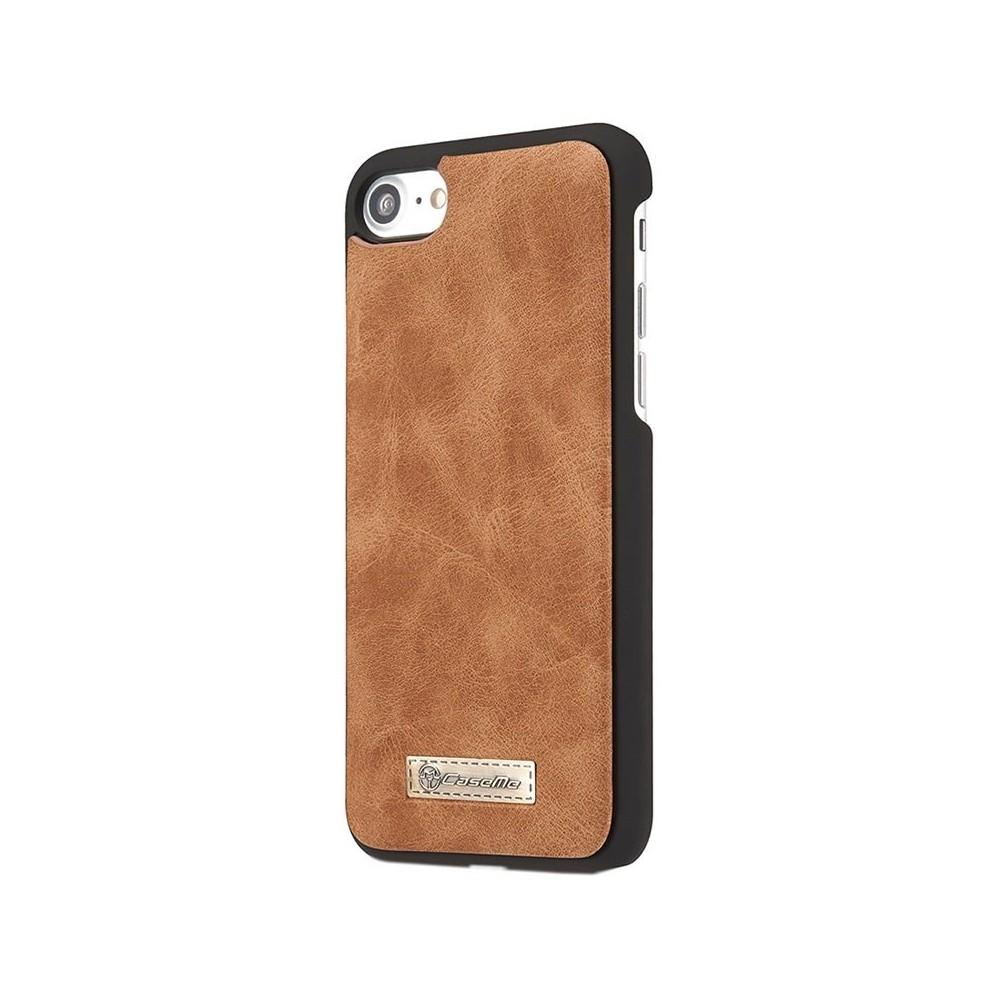 Etui Iphone 7 Portefeuille multifonctions Marron - CaseMe
