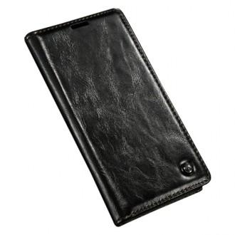 Etui Sony Xperia Z4 Portefeuille Noir - CaseMe