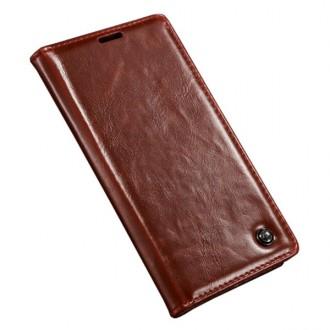 Etui Sony Xperia Z4 Portefeuille Rouge - CaseMe