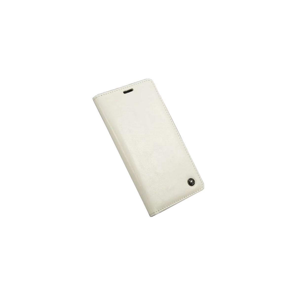 Etui Sony Xperia Z3 Portefeuille Blanc - CaseMe