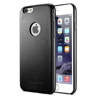 Coque iPhone 6 noire ultraslim - CaseMe