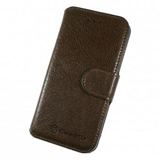 Etui iPhone 6 Plus / 6s Plus Book type marron foncé - CaseMe