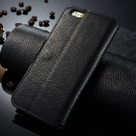 Etui Book type noir pour iPhone 6 Plus / 6s Plus - CaseMe
