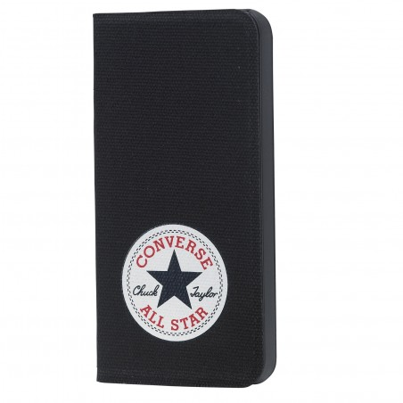 Etui iPhone SE / 5S / 5 folio noir avec logo Converse