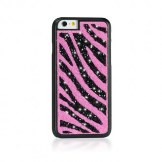 Coque iPhone 6 / 6s Ayano Glam Zebra Pink