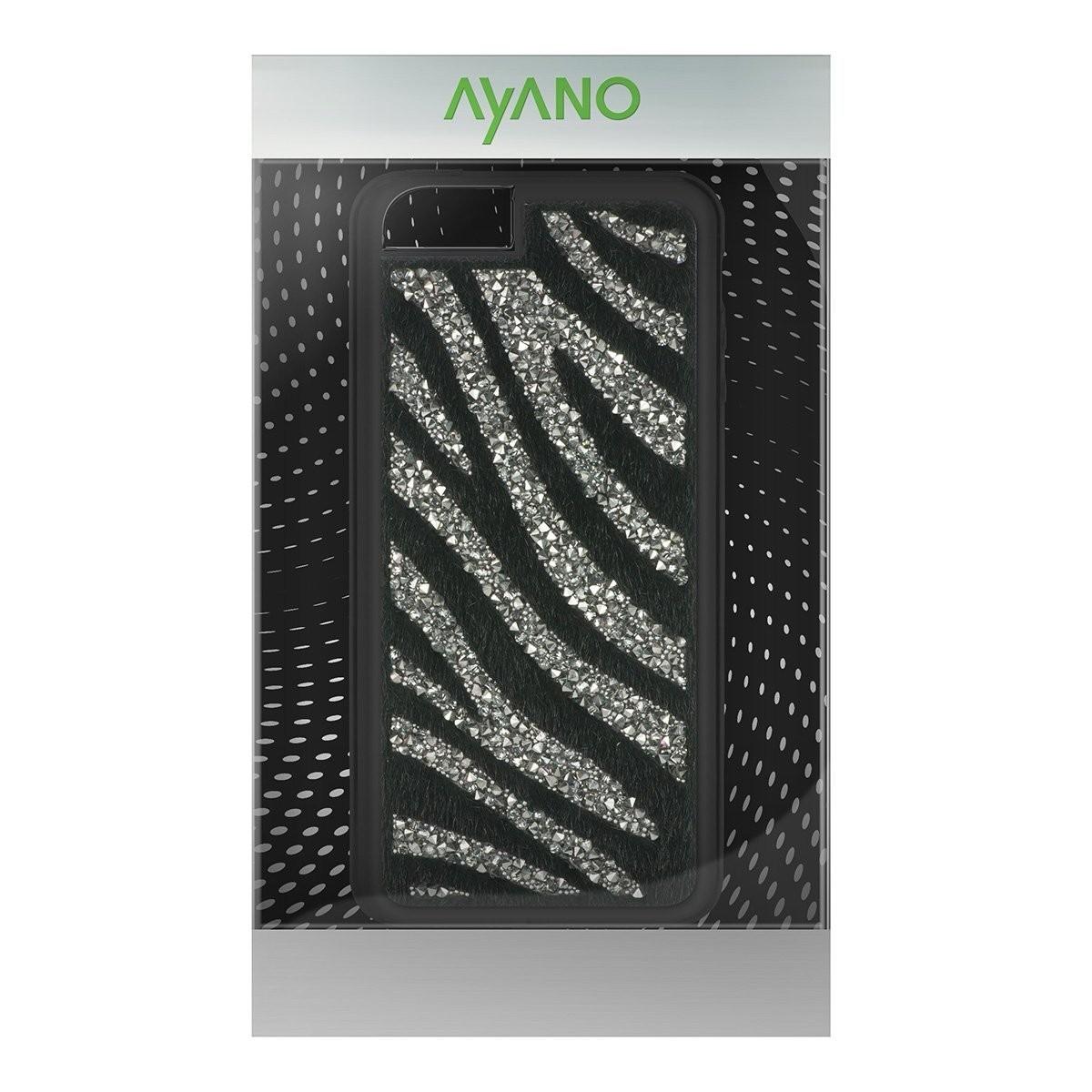 Coque iPhone 6 / 6s  Ayano Glam Zebra Black Diamond