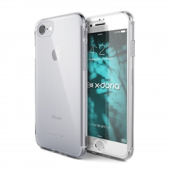 Coque iPhone 8 / iPhone 7 Defense 360° transparente avec verre trempé - Xdoria