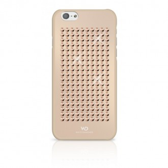 Coque iPhone 6 / 6s avec cristaux or rose - White Diamonds