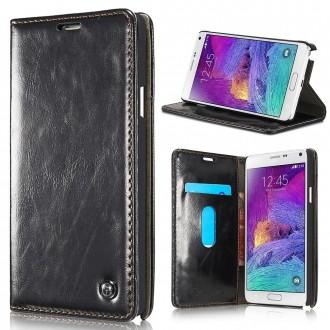 Etui Samsung Galaxy Note 4 Portefeuille Noir - CaseMe