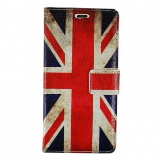 Etui Galaxy A3 (2016) motif Drapeau UK - Crazy Kase