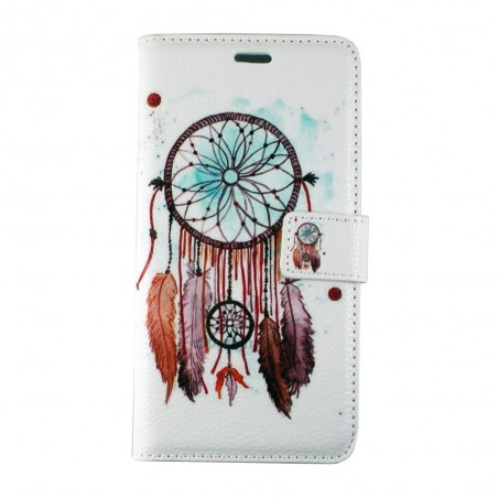 Etui iPhone Galaxy A5 (2016) motif Attrape Rêves Marron - Crazy Kase