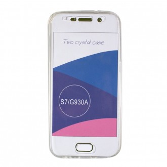 Coque Galaxy S7 protection 360 ° Transparente souple - Crazy Kase