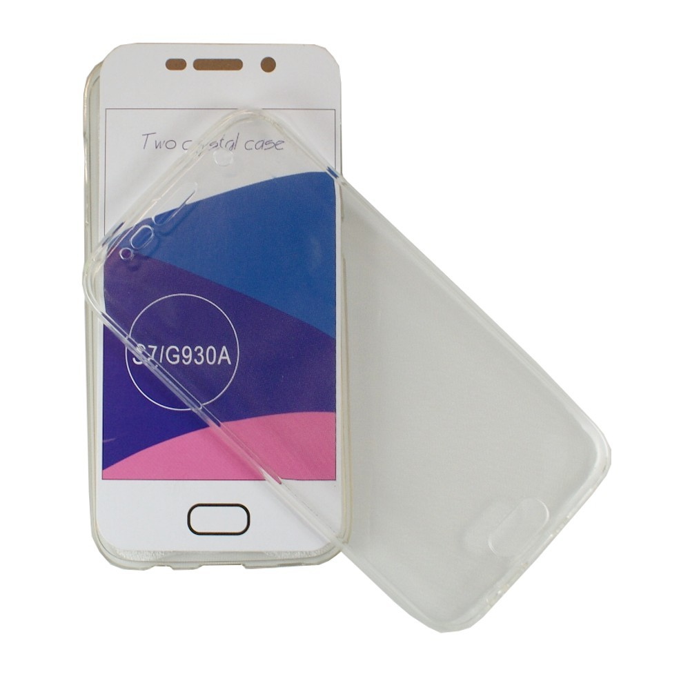Coque Galaxy S7 protection 360 ° Transparente souple - Crazy Kase