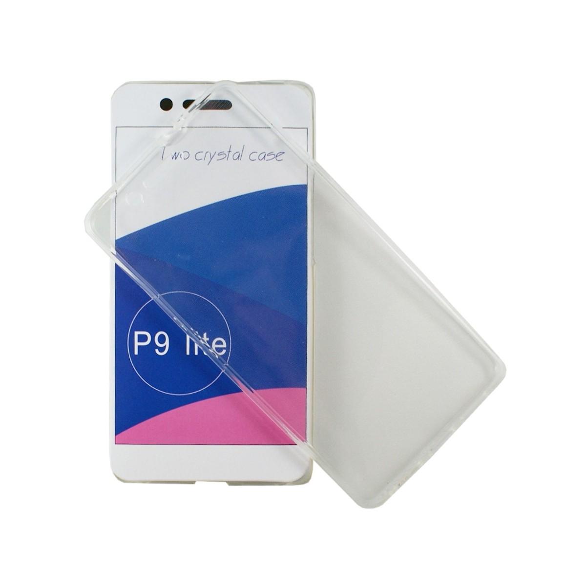 Coque Huawei P9 Lite protection 360 ° Transparente souple - Crazy Kase
