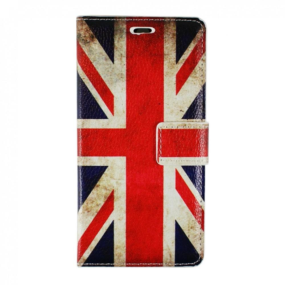Etui Huawei P9 Lite motif Drapeau UK grainé - Crazy Kase