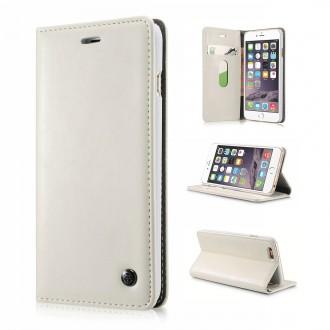 Etui iPhone 6 Plus Portefeuille Blanc - CaseMe