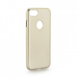 Coque Iphone 7 plastique rigide dorée - Goospery