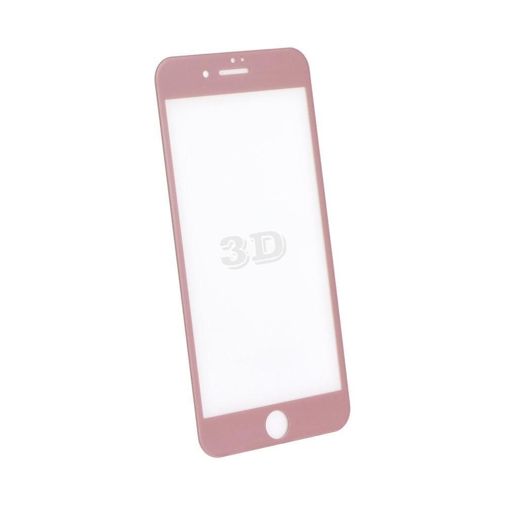 film iphone 8 iphone 7 protection cran verre tremp contour rose gold blue star. Black Bedroom Furniture Sets. Home Design Ideas