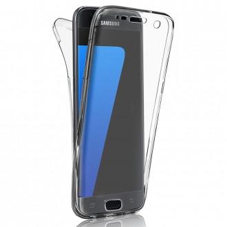 Coque Galaxy J3 (2016) protection 360 ° Transparente souple - Crazy Kase