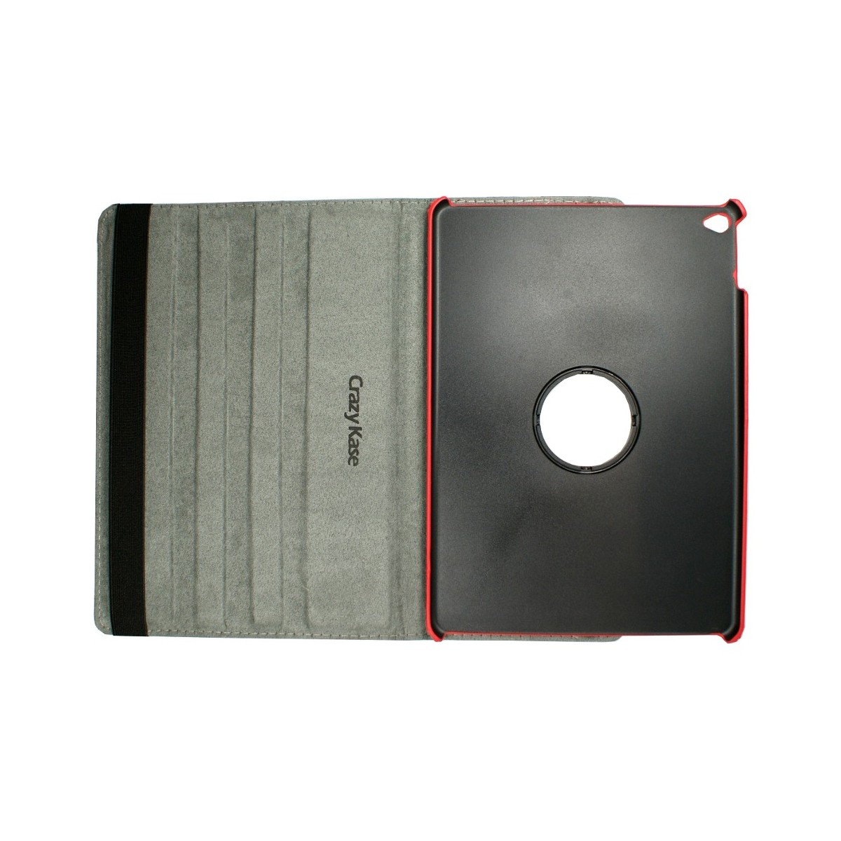 Etui iPad Air 2 rotatif 360° motif drapeau UK - Crazy Kase
