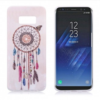 Coque Galaxy S8 motif Attrape Rêves et Papillon - Crazy Kase