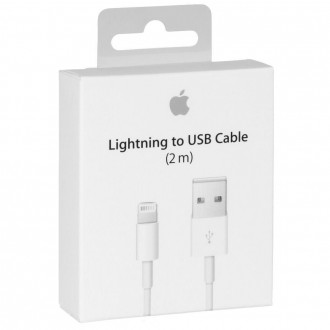 Câble USB vers Lightning Blanc 2 mètres MD819ZM/A - Apple
