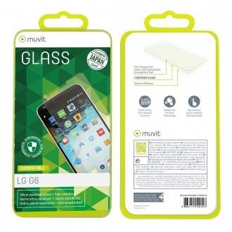 Film LG G6 protection écran verre trempé - Muvit