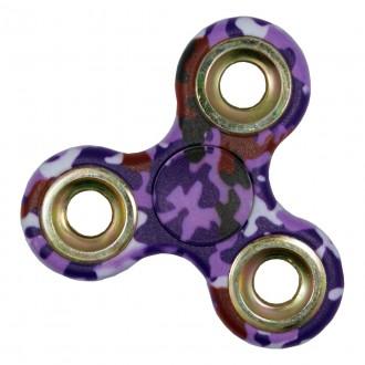 Hand Spinner motif Camouflage Violet