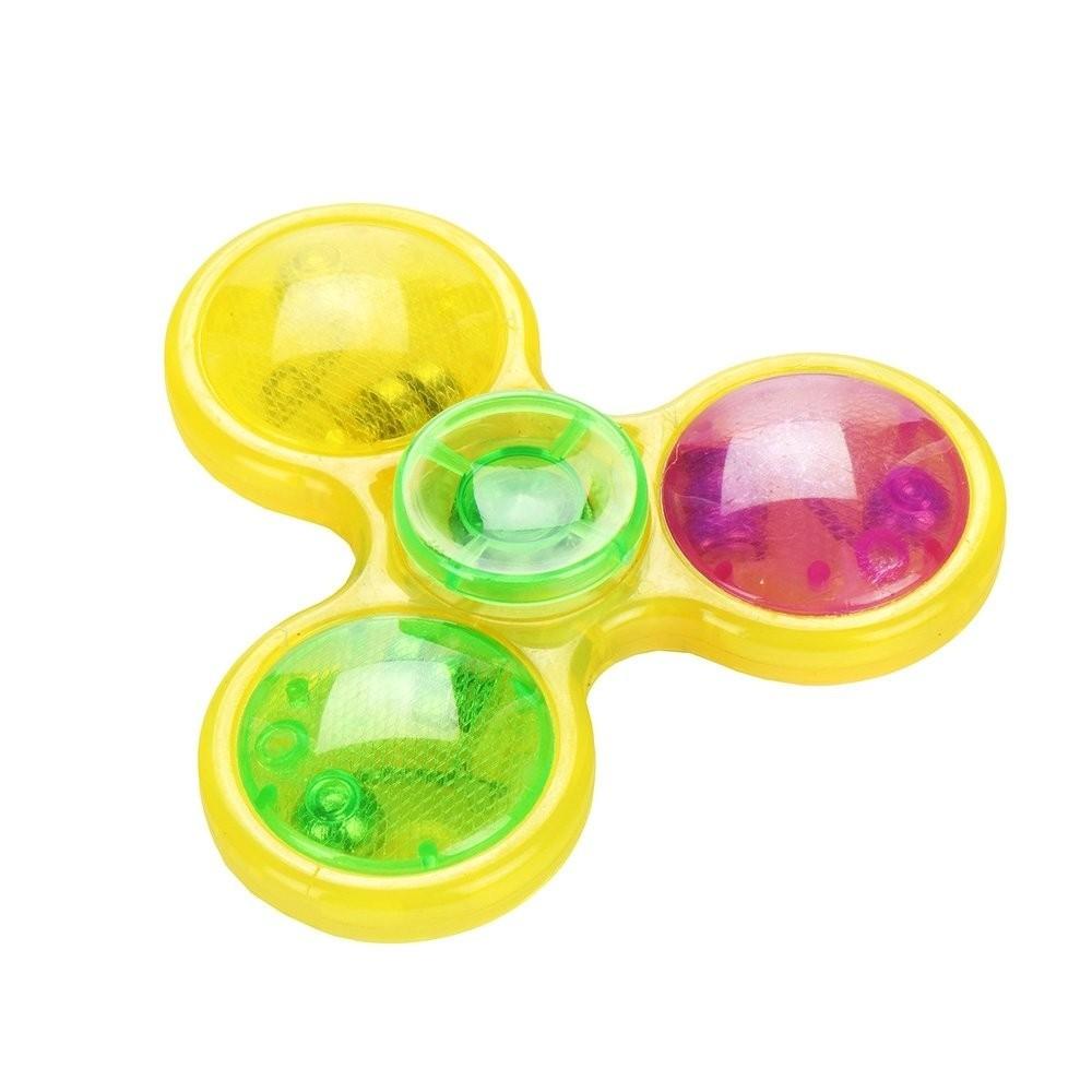 Hand Spinner Multicolore à LED - Couleur du modèle aléatoire