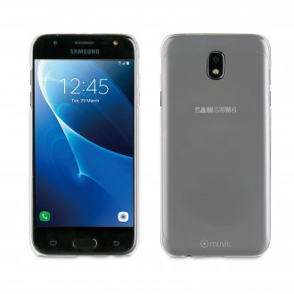 Coque Galaxy J7 (2017) Transparente rigide - Muvit
